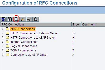 SAP RFC Maintenance (SM59)