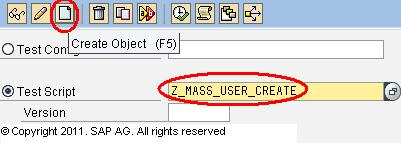 Mass User Creation