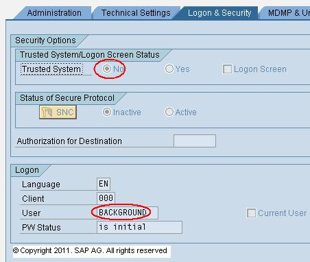 SAP RFC Maintenance contd..
