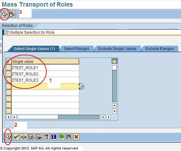 How to Transport Roles in SAP
