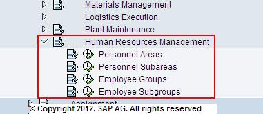 HR Authorization Fields